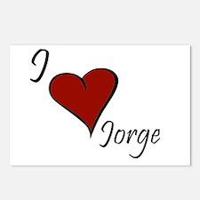 Jorge Postcards (Package of 8)