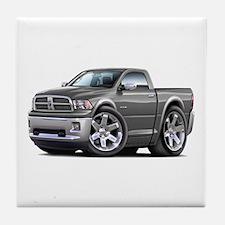 Ram Grey Truck Tile Coaster