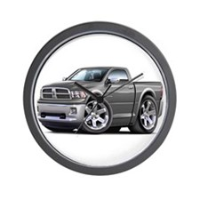 Ram Grey Truck Wall Clock