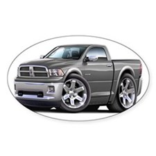 Ram Grey Truck Decal