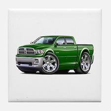 Ram Green Dual Cab Tile Coaster