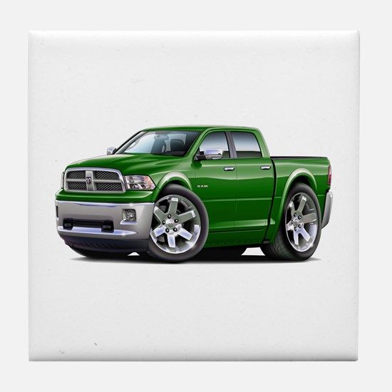 Ram Green Dual Cab Tile Coaster