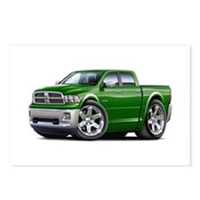 Ram Green Dual Cab Postcards (Package of 8)
