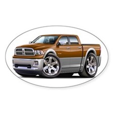 Ram Brown-Grey Dual Cab Decal