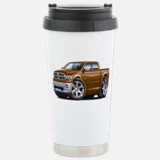 Ram Brown Dual Cab Stainless Steel Travel Mug