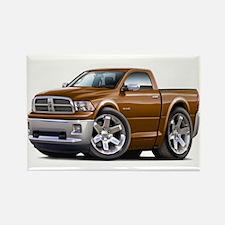Ram Brown Truck Rectangle Magnet