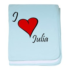 Julia baby blanket