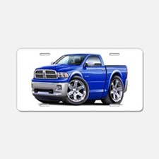 Ram Blue Truck Aluminum License Plate