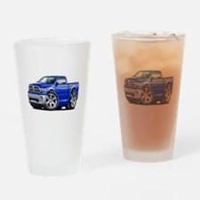 Ram Blue Truck Drinking Glass