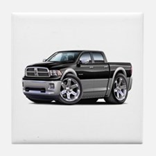 Ram Black-Grey Dual Cab Tile Coaster