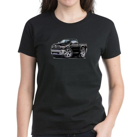 Ram Black Truck Women's Dark T-Shirt