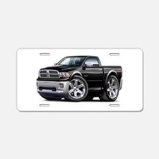 Ram Black Truck Aluminum License Plate