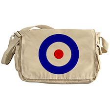 'Mod Target' Messenger Bag