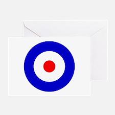'Mod Target' Greeting Card