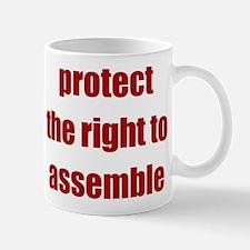 Right to Assemble - Mug