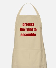 Right to Assemble - Apron