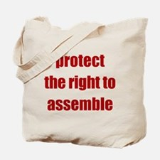 Right to Assemble - Tote Bag