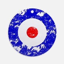 'Vintage Target' Ornament (Round)