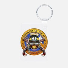 US Army Military Police Skull Keychains