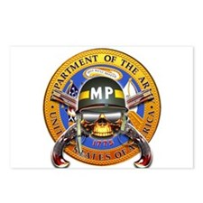 US Army Military Police Skull Postcards (Package o