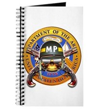 US Army Military Police Skull Journal
