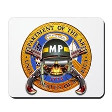US Army Military Police Skull Mousepad