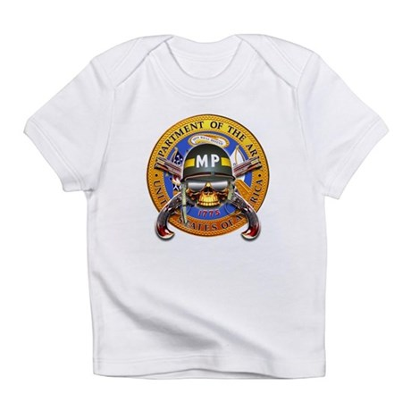 US Army Military Police Skull Infant T-Shirt