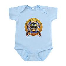 US Army Military Police Skull Infant Bodysuit