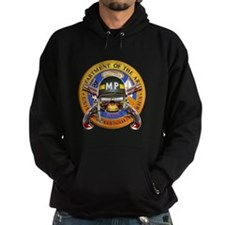 US Army Military Police Skull Hoodie