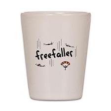 'Freefaller' Shot Glass