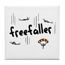 'Freefaller' Tile Coaster