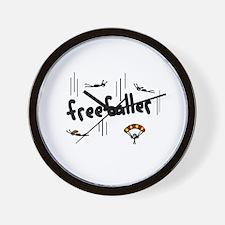 'Freefaller' Wall Clock
