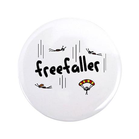 """'Freefaller' 3.5"""" Button"""