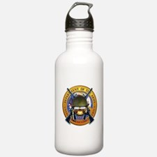 US Army Skull and Seal Water Bottle