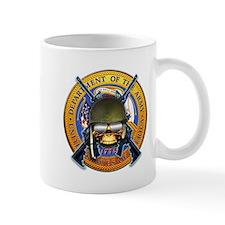 US Army Skull and Seal Mug