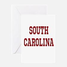 South Carolina Merchanddise Greeting Card