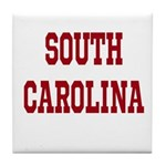 South Carolina Merchanddise Tile Coaster