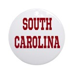 South Carolina Merchanddise Ornament (Round)