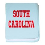 South Carolina Merchanddise baby blanket