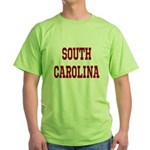 South Carolina Merchanddise Green T-Shirt