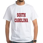 South Carolina Merchanddise White T-Shirt