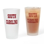 South Carolina Merchanddise Drinking Glass