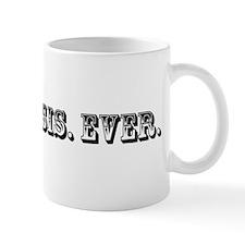Best Big Sis Ever Trophy Mug