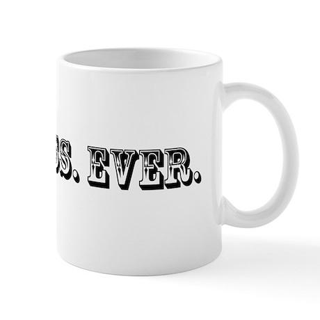 Best Boss Ever Trophy Mug