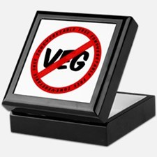 'Veg Free Zone' Keepsake Box