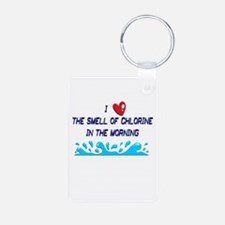 Chlorine in the Morning Keychains
