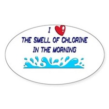 Chlorine in the Morning Decal