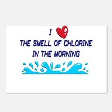 Chlorine in the Morning Postcards (Package of 8)