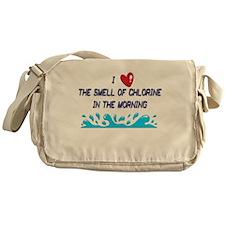 Chlorine in the Morning Messenger Bag