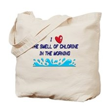 Chlorine in the Morning Tote Bag